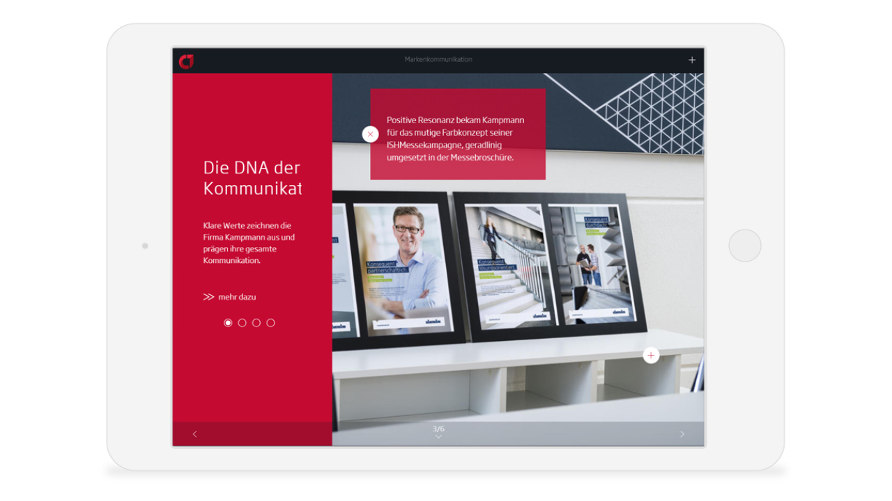 Agentur für B2B Marketing - E-Mag, E-Magazin, Digitale Magazin & Broschüre - concept one 2