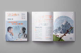 Agentur für B2B Marketing - Franken Guss Magazin TaktZeiten 2018 Teaser