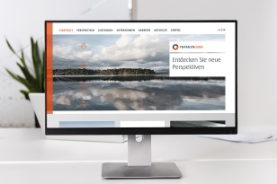 Agentur für B2B Marketing - Franken Guss Responsive Design